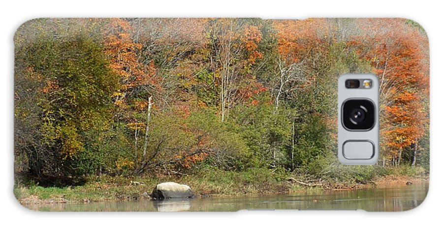 New England Galaxy S8 Case featuring the photograph Riverside Colors 2 by Gene Cyr