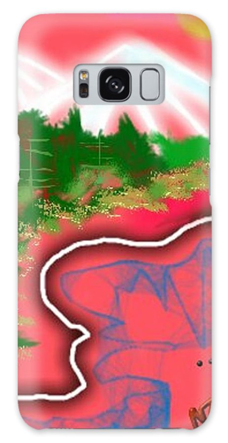 Mountain Galaxy S8 Case featuring the digital art Road To Susanville by Nancy Good