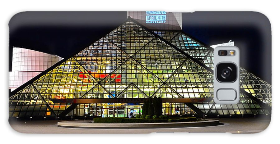 Rock And Roll Galaxy Case featuring the photograph Rock n Roll hall of Fame Induction by Frozen in Time Fine Art Photography