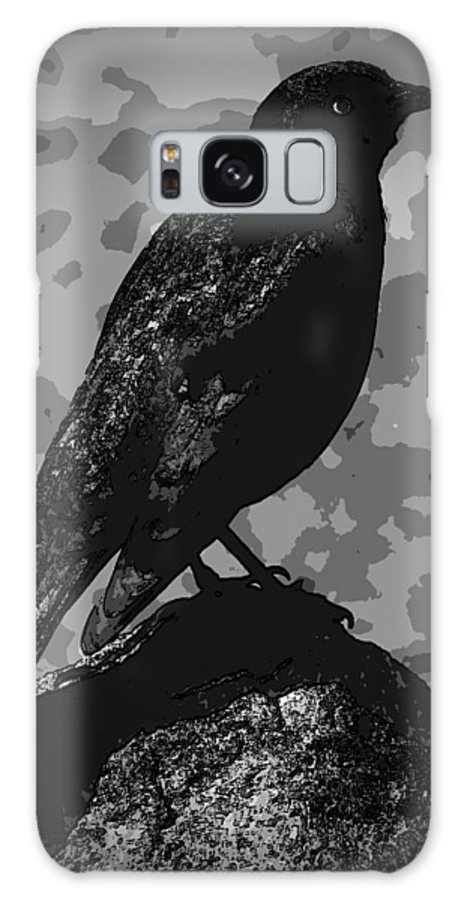 Software Effects Galaxy S8 Case featuring the photograph Rockbird by Melvin Vierra