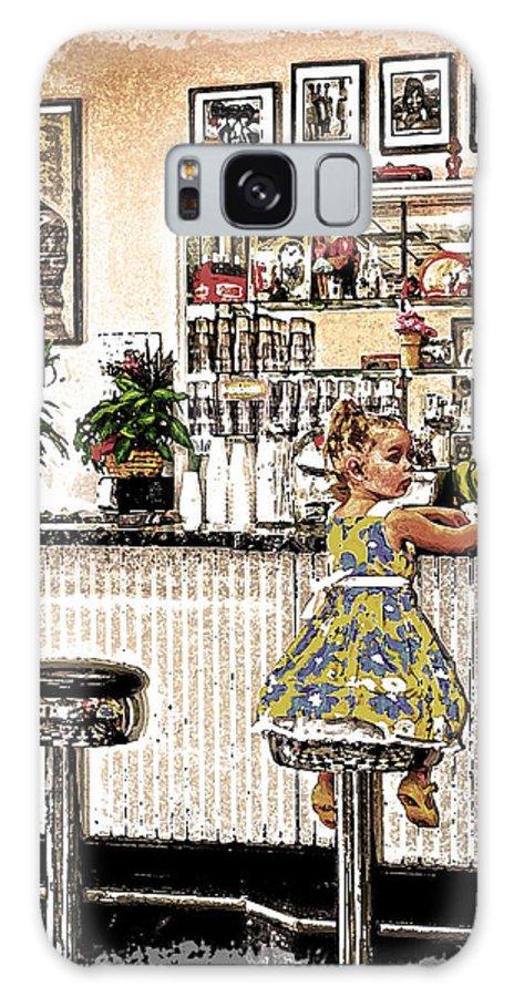 Rockin Robin's Soda Shop Galaxy S8 Case featuring the photograph Rockin Robin's Soda Shop by Randall Branham