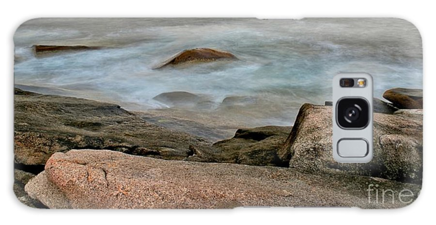 Rockport Galaxy S8 Case featuring the photograph Rockport Beach by Kenny Glotfelty