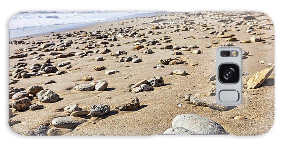 Beach Galaxy S8 Case featuring the photograph Rocky Beach by Radu Razvan