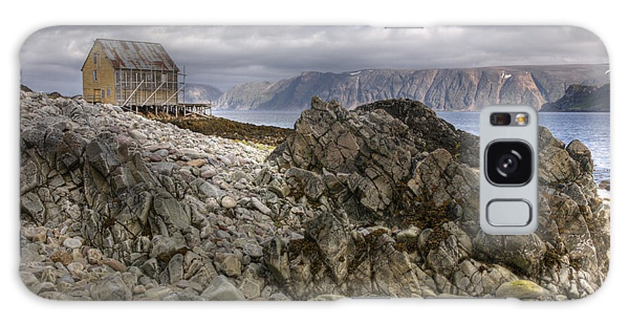 Hdr Galaxy S8 Case featuring the photograph Rocky Land by Heiko Koehrer-Wagner