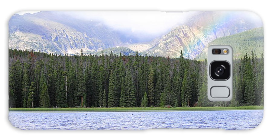 Nature Galaxy S8 Case featuring the photograph Rocky Mountain Rainbow by Kevin Stocker