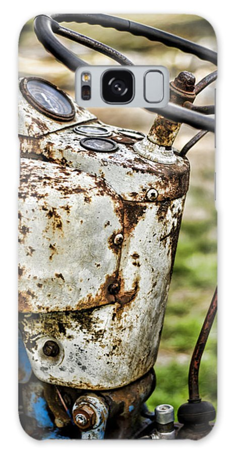 Tractor Galaxy S8 Case featuring the photograph Rolling On by Heather Applegate