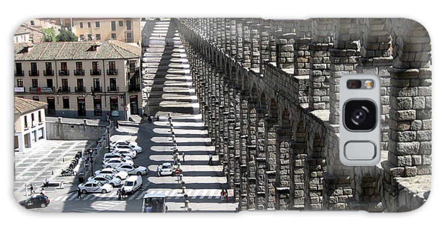 Roman Galaxy S8 Case featuring the photograph Roman Aqueduct II by Farol Tomson