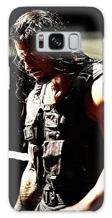 Roman Reigns Galaxy S8 Case featuring the photograph Roman Reigns by Paul Wilford