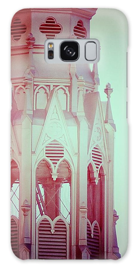 Romantic Galaxy S8 Case featuring the photograph Romantic Cathedral Architectural Details Photograph by Laura Carter