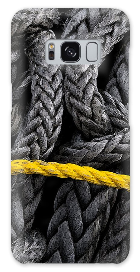 Ropes Galaxy S8 Case featuring the photograph Ropes by Jeffrey Woodley