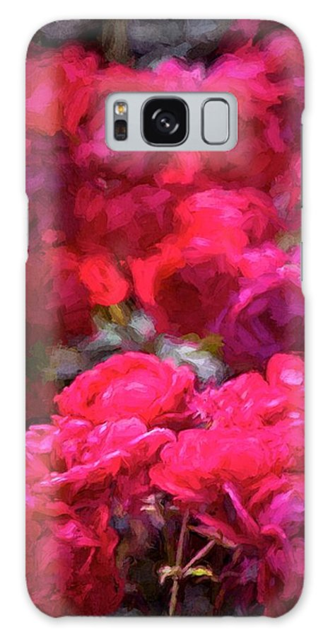 Floral Galaxy S8 Case featuring the photograph Rose 134 by Pamela Cooper