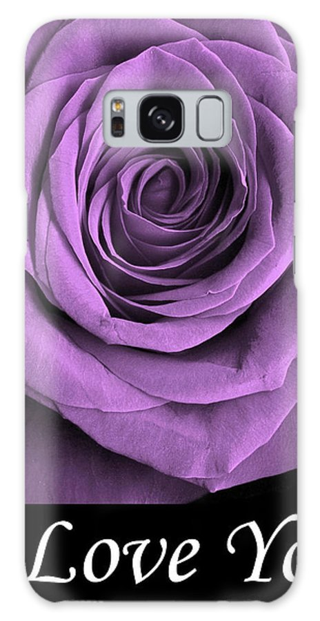 Rose Galaxy S8 Case featuring the photograph Rose 5 I Love You by Matthew Howard