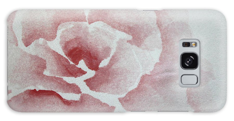 Rose Galaxy S8 Case featuring the painting Rose Absolute by Catherine Sprague