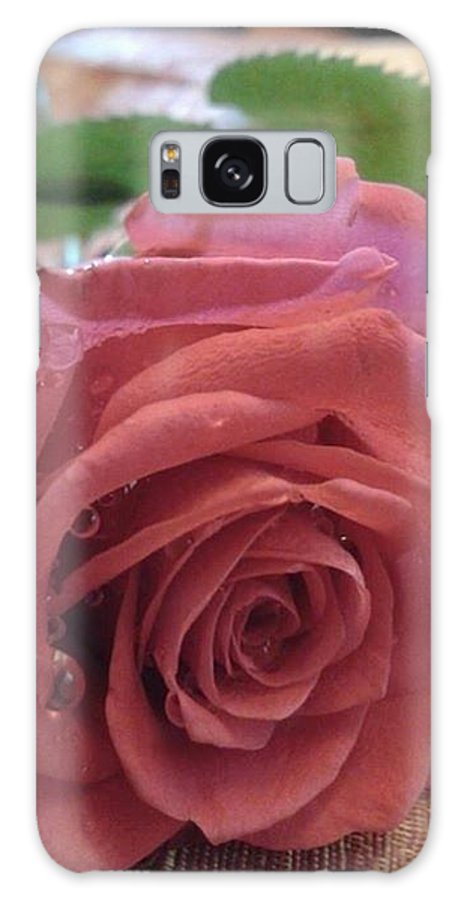 Rose Galaxy S8 Case featuring the photograph Rose by Monalisa Nayak