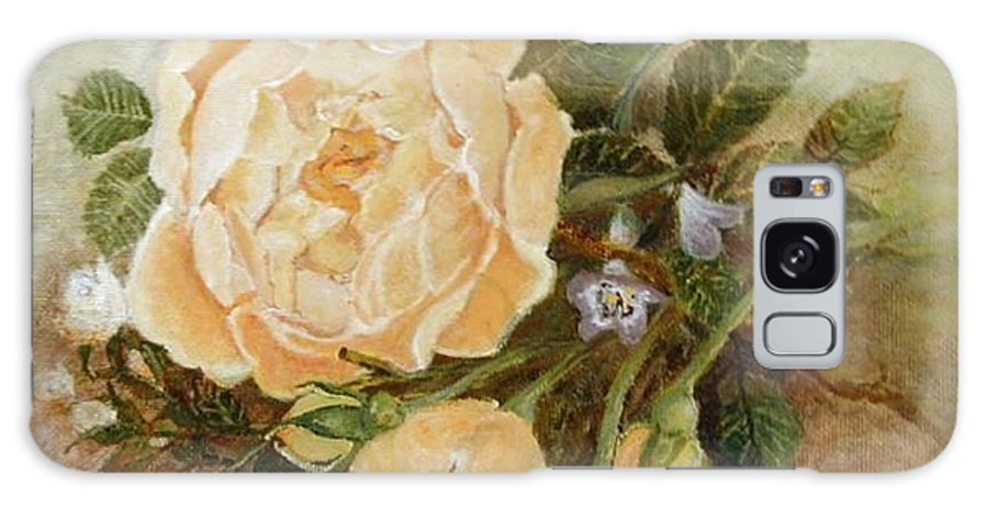 Rose Painting Galaxy S8 Case featuring the painting Roses Sublime by Diana Besser