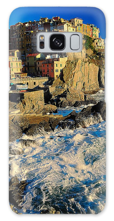 Italy Galaxy S8 Case featuring the photograph Rough Seas by Jim Southwell