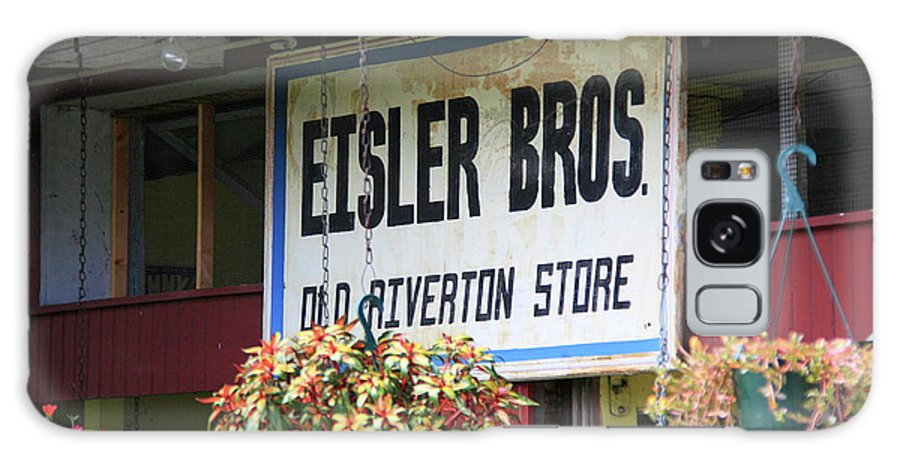 66 Galaxy S8 Case featuring the photograph Route 66 - Eisler Brothers Old Riverton Store by Frank Romeo
