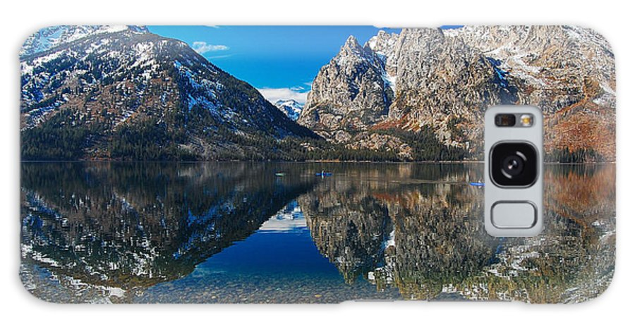 Teton Galaxy S8 Case featuring the photograph Row Your Boat by Jim Southwell