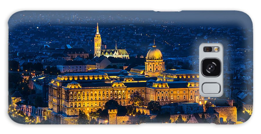 Buda Castle Galaxy S8 Case featuring the photograph Royal Palace Of Buda In Budapest by Emi Cristea