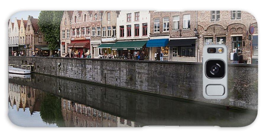 Rozenhoedkaai Bruges Galaxy S8 Case featuring the photograph Rozenhoedkaai Bruges by Phyllis Taylor