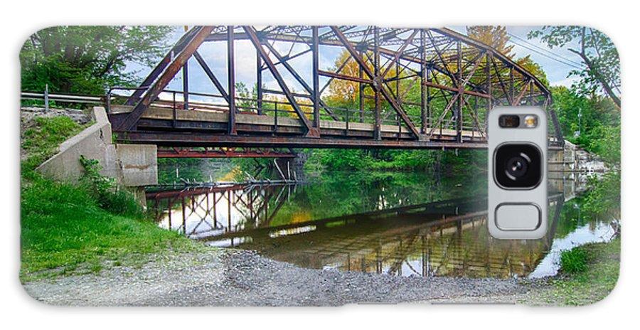 Bridges Galaxy S8 Case featuring the photograph Rt 106 Bridge by Guy Whiteley