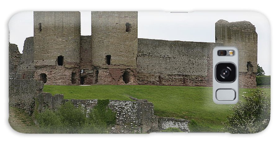 Castles Galaxy Case featuring the photograph Ruddlan Castle 2 by Christopher Rowlands