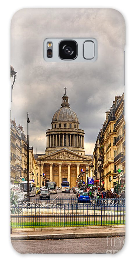 Paris Galaxy S8 Case featuring the photograph Rue Sufflot In Paris by Radu Razvan