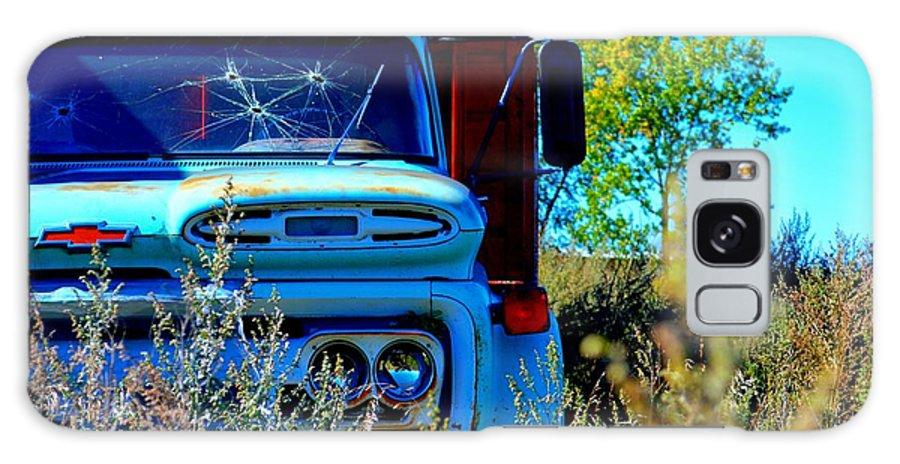 Chevy Galaxy S8 Case featuring the photograph Runs Like A Chevy by Amanda Raba Johnson