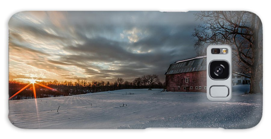 Sunset Galaxy S8 Case featuring the photograph Rural Sunset by Everet Regal