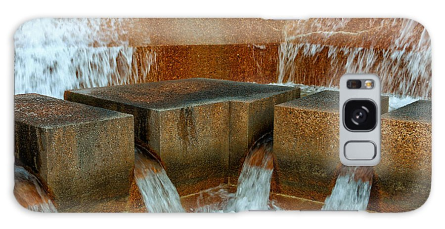 Rushing Water Galaxy S8 Case featuring the photograph Rushing Water by Rachel Cohen