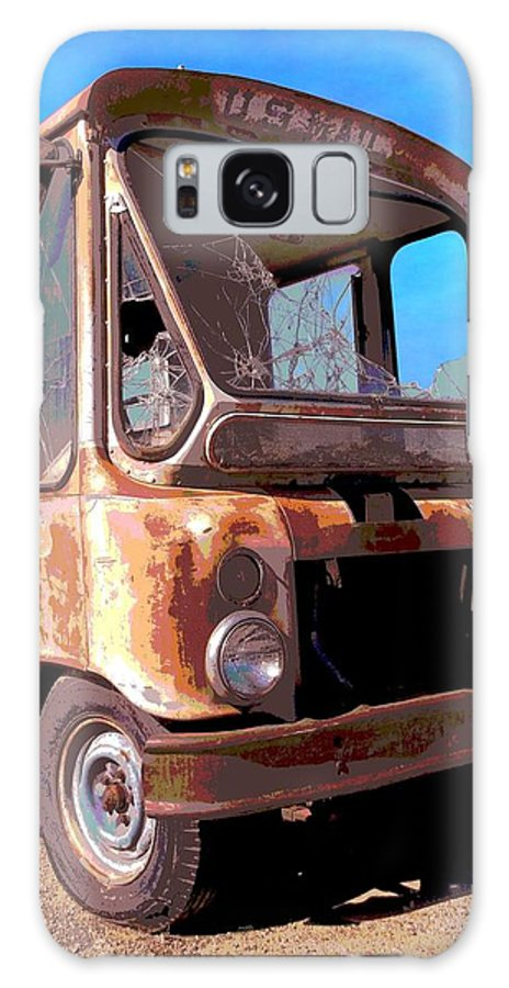 Postal Truck Galaxy S8 Case featuring the photograph Rust And Mail by Glenn McCarthy Art and Photography