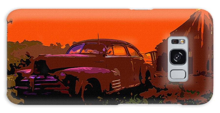 1950s Galaxy S8 Case featuring the digital art Rust In Peace 4 by Brian Stevens
