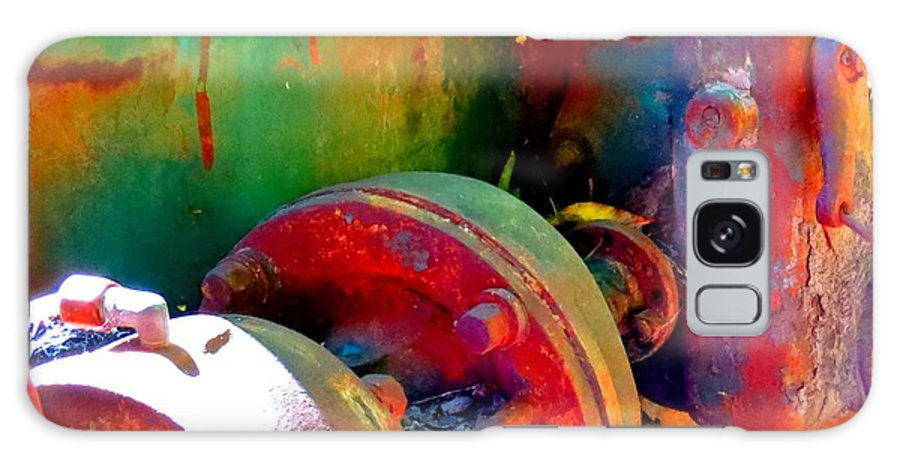 Vintage Galaxy S8 Case featuring the photograph Rusted Glory 4 by Desiree Paquette