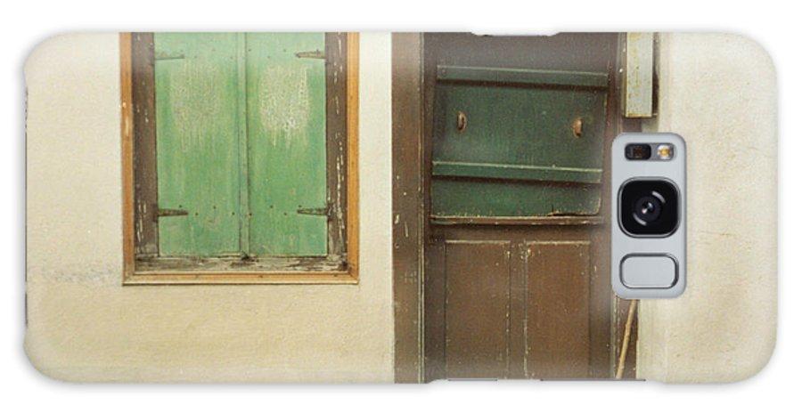 Wooden Door Galaxy S8 Case featuring the photograph Rustic Door by Christine Jepsen