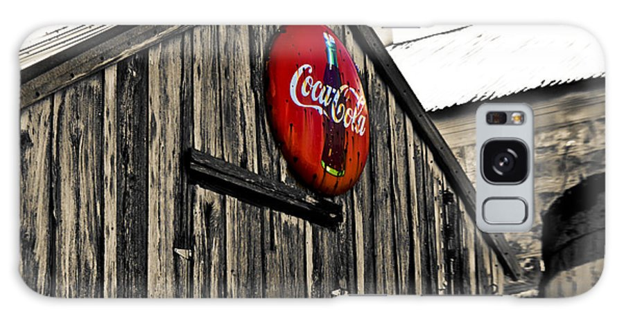 Coke Galaxy Case featuring the photograph Rustic by Scott Pellegrin