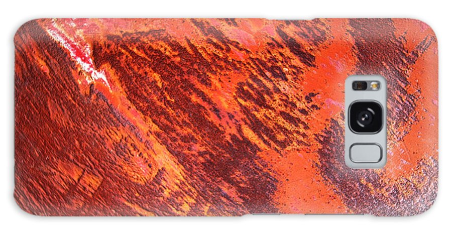 Rusty Galaxy S8 Case featuring the photograph Rusty Textures by Vivian Christopher