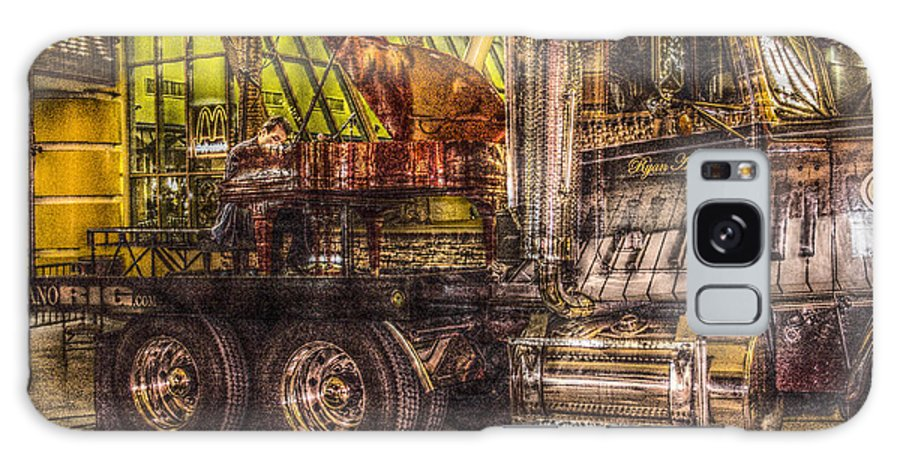 Ryan Ahern Rig Street Piano Galaxy S8 Case featuring the photograph Ryan Ahern Rig Street Piano by Viktor Savchenko