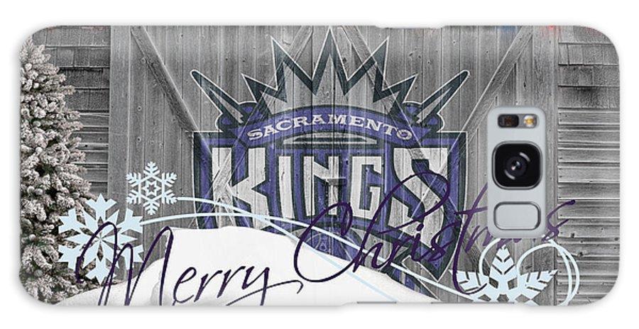 Kings Galaxy S8 Case featuring the photograph Sacramento Kings by Joe Hamilton