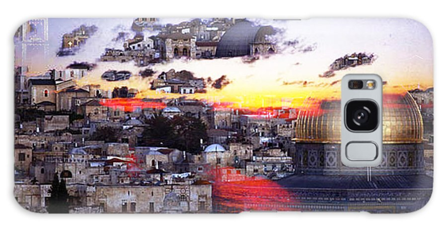 Israel Digital Art Galaxy S8 Case featuring the digital art Sacred by Yael VanGruber