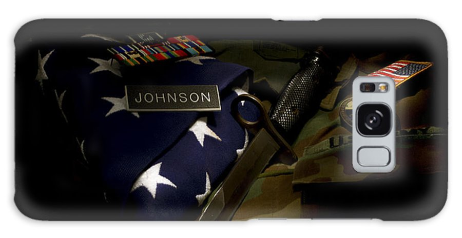 Us.army Galaxy S8 Case featuring the photograph Sacrifices Made 3 by Shawn Johnson