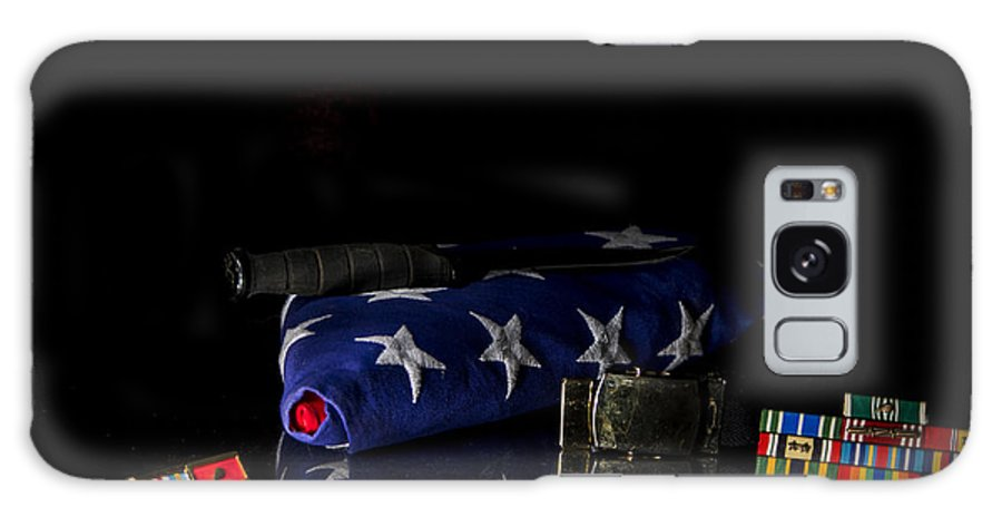 Us.army Galaxy S8 Case featuring the photograph Sacrifices Made 4 by Shawn Johnson