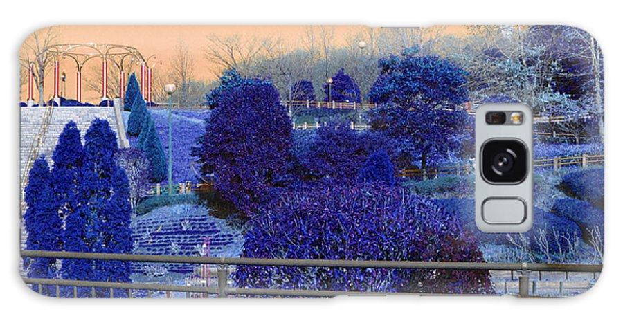 Park Galaxy S8 Case featuring the photograph Sagamihara Asamizo Park 16g by Jay Mann
