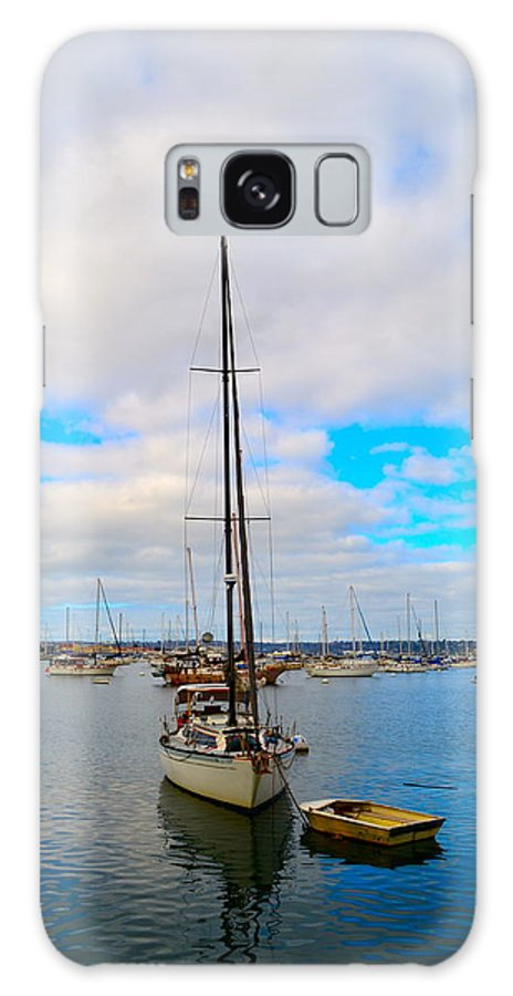 Sailboat Galaxy S8 Case featuring the photograph Sail Me by Regina Avila