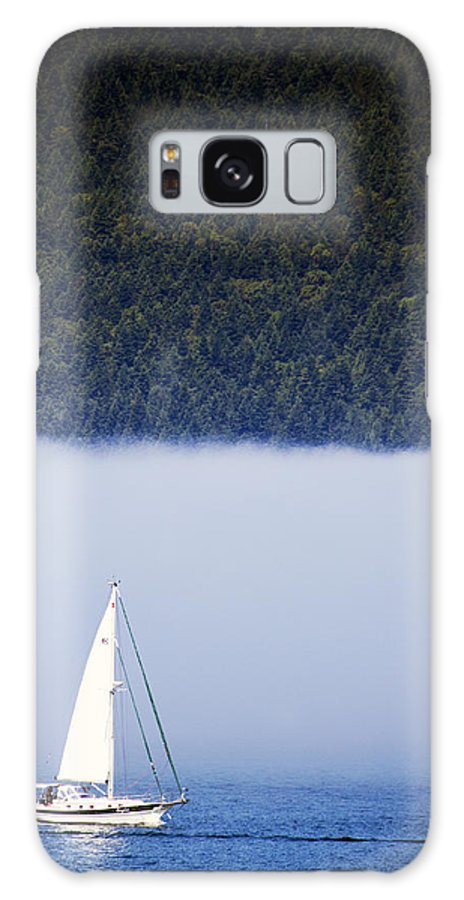 Sailboats Galaxy S8 Case featuring the photograph Sailboat Tranquility by Edward Hawkins II