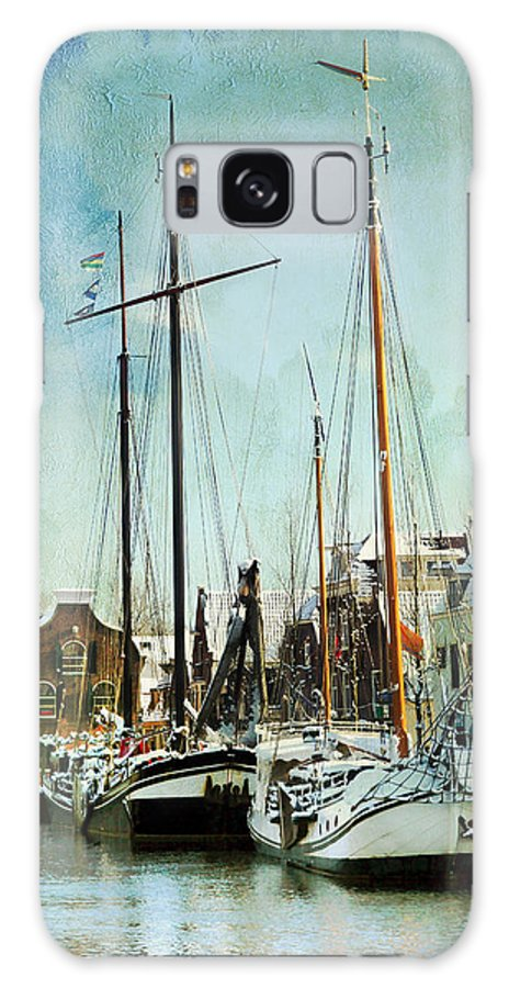 Sailboat Galaxy S8 Case featuring the photograph Sailboats by Annie Snel