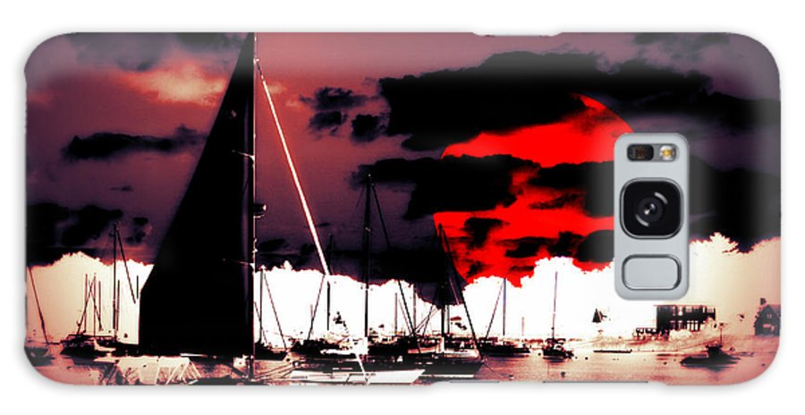 Sailboat Galaxy S8 Case featuring the photograph Sailboats In The Marina Surreal 2 by Aurelio Zucco