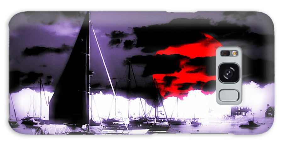 Sailboat Galaxy S8 Case featuring the photograph Sailboats In The Marina Surreal 3 by Aurelio Zucco