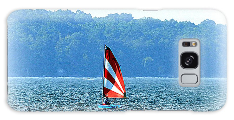 Waterscape Galaxy S8 Case featuring the photograph Sailing by Rennae Christman