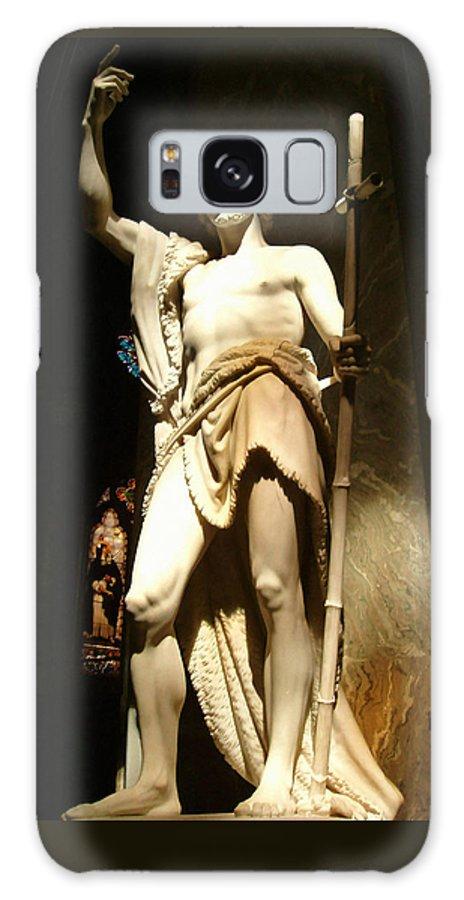 Saint John The Baptist Galaxy S8 Case featuring the photograph Saint John The Baptist by Ellen Henneke