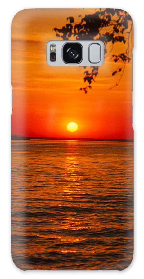 Sunset Galaxy S8 Case featuring the photograph Saint Lawrence River Sunset IIi by Brian Lucia
